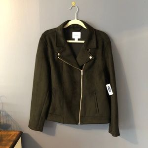 Old Navy Suede Jacket